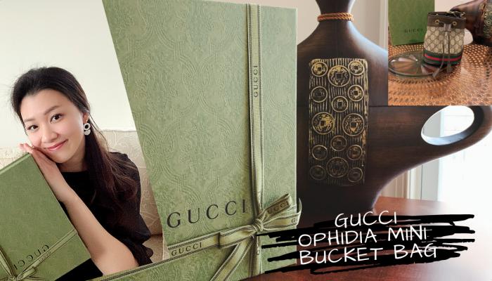 GUCCI Ophidia Mini Bucket Bag Unboxing (March 2021) + Bonus Segment